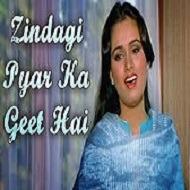 Zindagi Pyar Ka Geet Hai Lyrics And Music By Lata Mangeshkar Arranged By Fardeen Sr Fk
