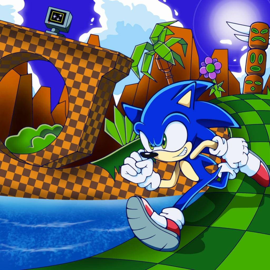 Sonic Green Hill Zone With Lyrics Lyrics And Music By Null Arranged By Yenthewolf