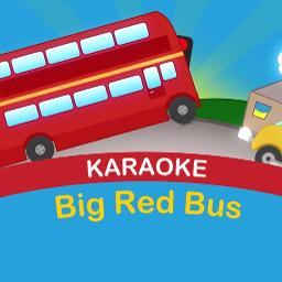 A Big Red Bus Lyrics And Music By Nursery Rhymes Arranged By Kyekye13