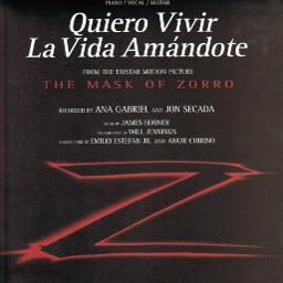 Quiero Vivir La Vida Amándote Lyrics And Music By Ana Gabriel Arranged By Lqs83