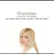 Everytime Lyrics And Music By Britney Spears Arranged By Eliasandes