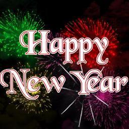 Happy New Year Profile deco