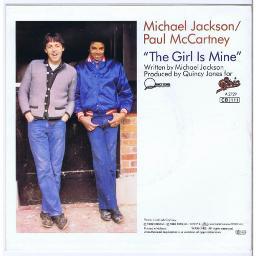 Sing Michael Jackson / Paul McCartney - The Girl Is Mine