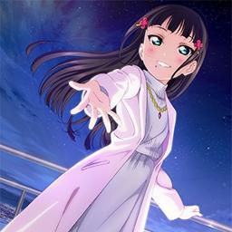 White First Love 黒澤ダイヤ Lyrics And Music By ラブライブサンシャイン Arranged By Damoti