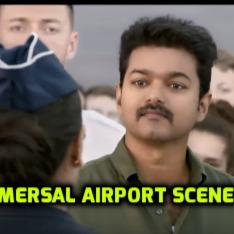 Mersal Airport Dialogue Scene Lyrics And Music By Vijaythamizhan Atlee Arranged By Hm Lakknitty16