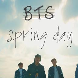 bts spring day lyrics english
