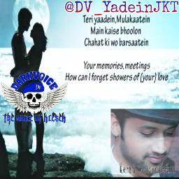 Teri Yaadein Mulakatein Lyrics And Music By Atif Aslam Arranged By Dv Yaadeinjkt