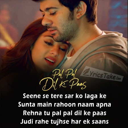 Hd Clean Pal Pal Dil Ke Paas Title Song Lyrics And Music By Arijit Singh Parampara Thakur Arranged By Pricelesssmyle