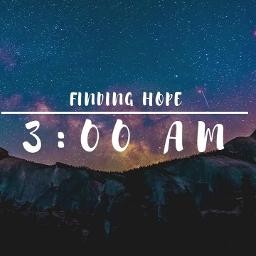 3 00 Am With Vocal Lyrics And Music By Finding Hope Arranged By Anva93